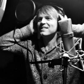 Steve in the studio